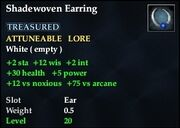 Shadewoven Earring