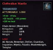 Cleftwalker Mantle