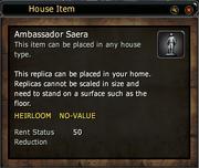 Ambassador Saera Replica