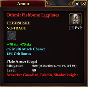 Othmir Fishbone Legplates