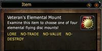 Veteran's Elemental Mount