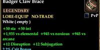 Badger Claw Brace