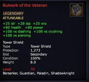 Bulwark of the Veteran