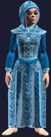 Robe of Frosty Tidings (Equipped)