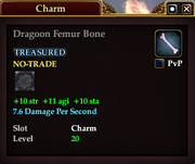 Dragoon Femur Bone