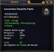 Lureclaws Favorite Pants