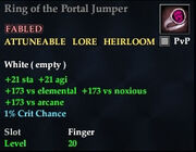 Ring of the Portal Jumper