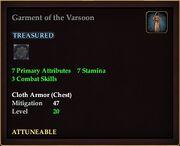 Garment of the Varsoon