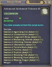 Advanced Alchemist Volume 43