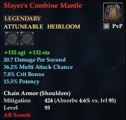 Slayer's Combine Mantle