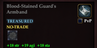 Blood-Stained Guard's Armband