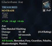 Glacierbane Axe