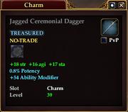 Jagged Ceremonial Dagger