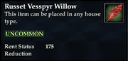 Russet Vesspyr Willow (Examine)