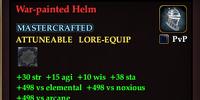 War-painted Helm