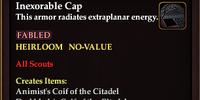 Inexorable Cap
