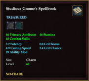 Studious Gnome's Spellbook