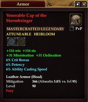 Venerable Cap of the Stormbringer