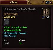 Nektropos Stalker's Mantle