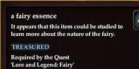 A fairy essence