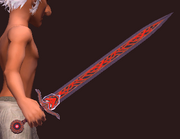 Ancient Combine Longsword (Equipped)
