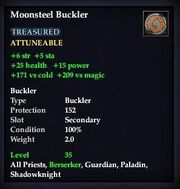 Moonsteel Buckler