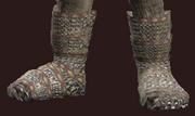 Plunderer's Small Link Chain Shoes (Equipped)
