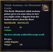 Vultak Anatomy An Illustrated Guide