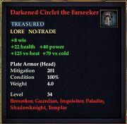 Darkened Circlet the Farseeker