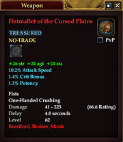 Fistmallet of the Cursed Plains