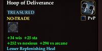 Hoop of Deliverance