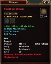 Shortbow of Kain