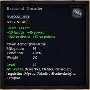 Bracer of Thunder