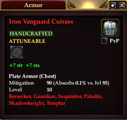 Iron Vanguard Cuirass
