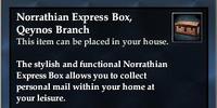 Norrathian Express Box, Qeynos Branch