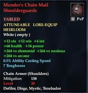 Mender's Chain Mail Shoulderguards