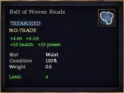 Belt of Woven Beads