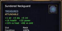 Sundered Neckguard