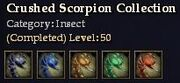 CQ insect crushedscorpion Journal