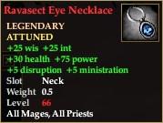 Ravasect Eye Necklace