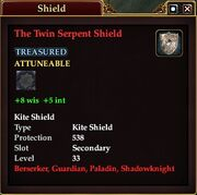 The Twin Serpent Shield
