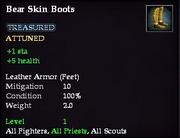 Bear Skin Boots