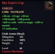 Sky Gazer's Cap