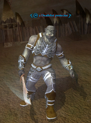 A Deathfist protector