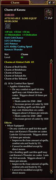 Charm of Karana