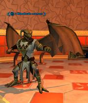 A Bloodscale overseer