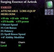 Surging Essence of Aeteok