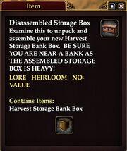 Disassembled Storage Box