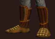 Elysian Boots of the Animist (Equipped)