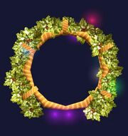 Frostfell Wreath (Visible)
